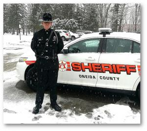 Sheriff and Oneida County Patrol Car