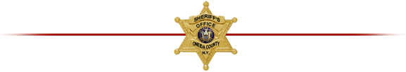 Oneida County Sheriff Department Badge